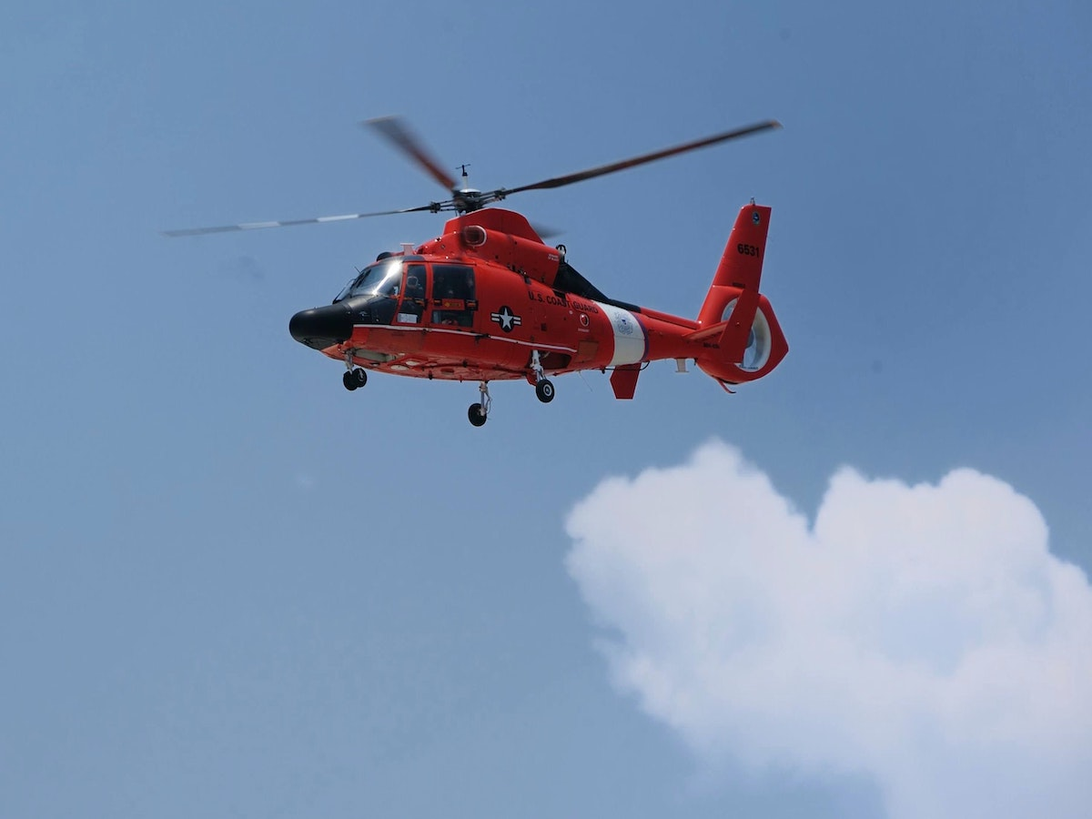 Air ambulance helicopter