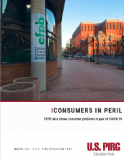 New CFPB report cover