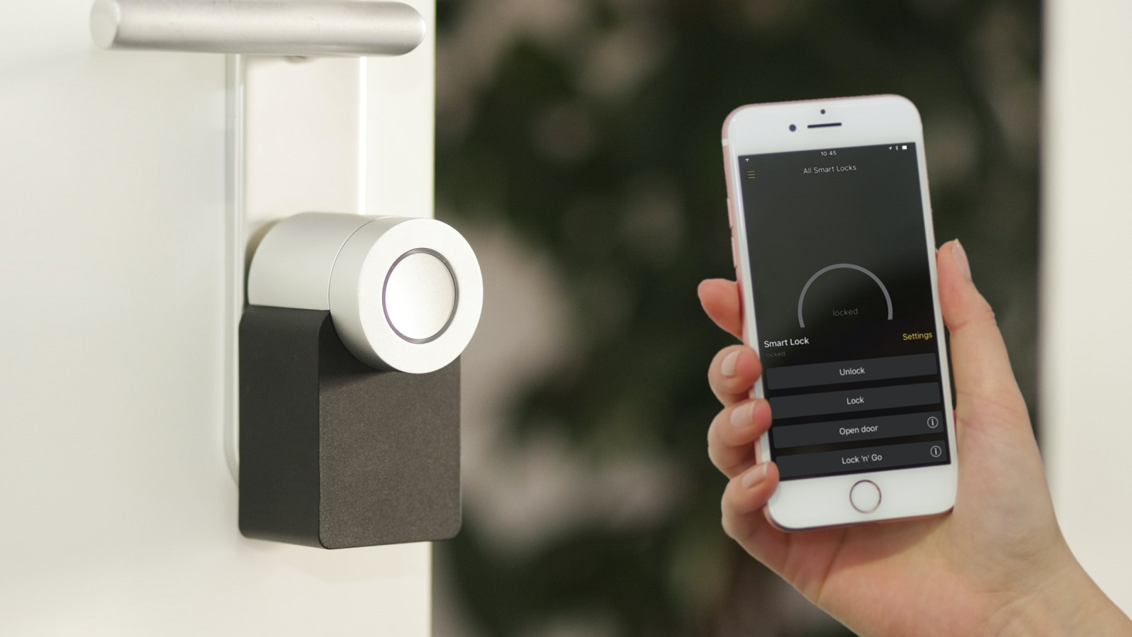 Smart lock example photo