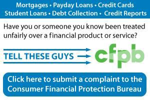 Complain to CFPB