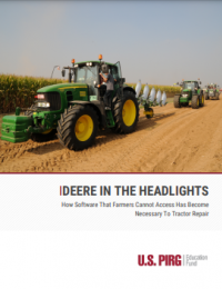 Cover of Deere in the Headlights